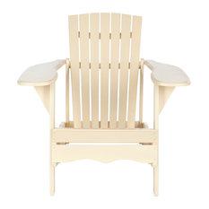 Safavieh Colin Outdoor Chair, Cream