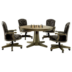 5-Piece Hartwell Game Table and Chair Set