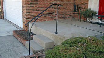 Iron X Handrails - Do It Yourself installation