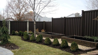 Trex Fencing - Varying Heights