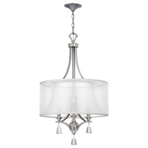 3-Light Pendant Chandelier