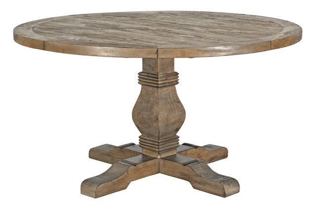 Griffin Pine Round Dining Table, 55