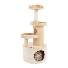 4-Tier Cat Tree Condo With Tunnel