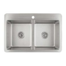 Valencia Series Dual-Mount Double Bowl Sink