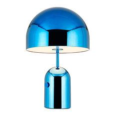 Bell Table Light, 60x40 Cm, Blue