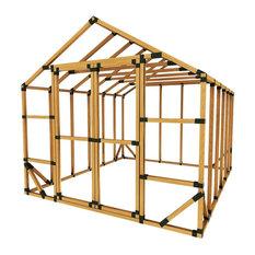10x12 Standard Greenhouse Kit, No Floor