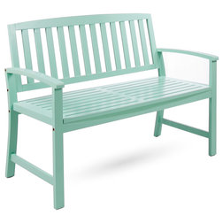 Contemporary Outdoor Benches by GDFStudio