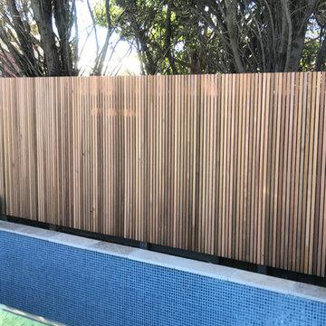 Cedar Pool Fencing