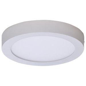 Sky Spot Ceiling Lamp, 3200K LED, White, Large
