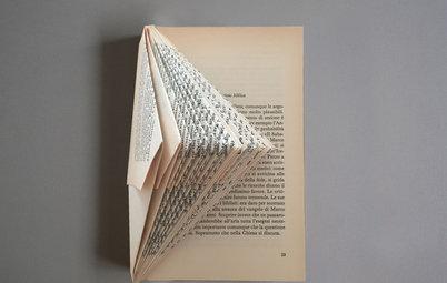 Papperskonst: Gör vackra presenter av dina gamla böcker