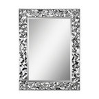 "Couture 40"" Portrait Mirror Chrome"