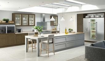 Fusion Kitchens - Shaker Smoked Oak and Shaker Ash Painted Light Grey