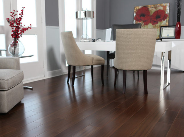Contemporary Hardwood Flooring by BR111 Hardwood Flooring - When To Use Engineered Wood Floors