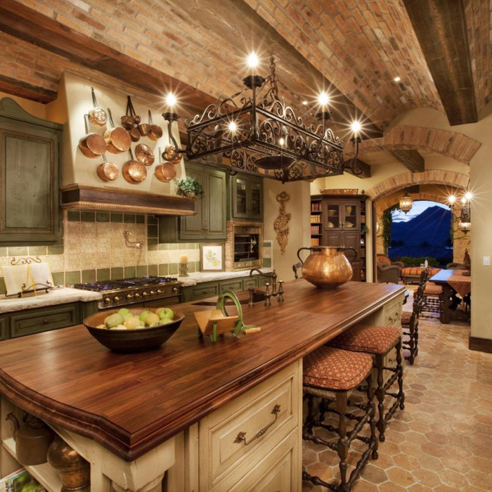 Gorgeous Rustic Kitchen