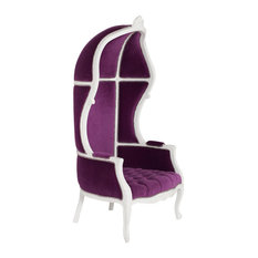 EcoFirstArt   Balloon Chair, Purple   Armchairs And Accent Chairs