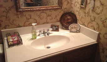 Eclectic guest bath gives a real show!