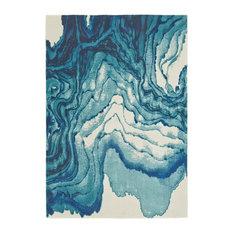Omari Rug, Atlantic, 5'x8'