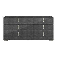 Noble Double Dresser, Gray Birch
