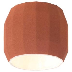 Marset Scotch Club Ceiling Light, Terracotta and White