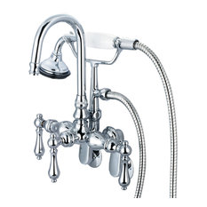 Traditional Wall Bathroom Faucets Houzz