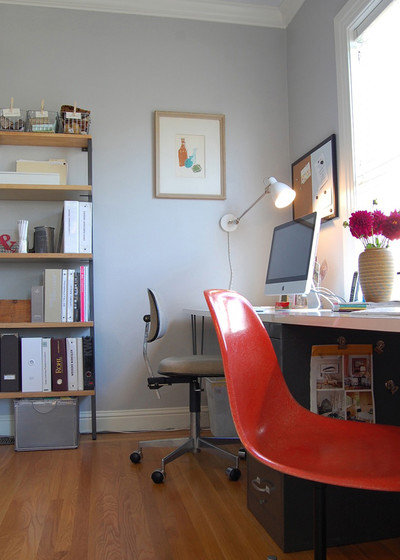 Contemporary Home Office by Niche Interiors