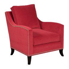 Heather Velvet Valentine Chair