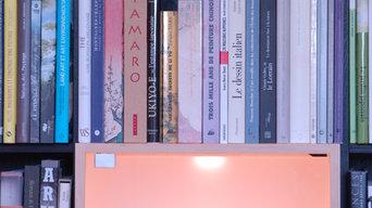 Création d'une bibliothèque et d'un bureau à rouen