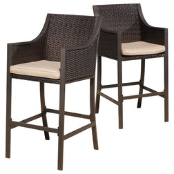 Great Contemporary Outdoor Bar Stools And Counter Stools by GDFStudio