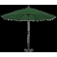 California Umbrella 11' Patio Umbrella in Hunter Green
