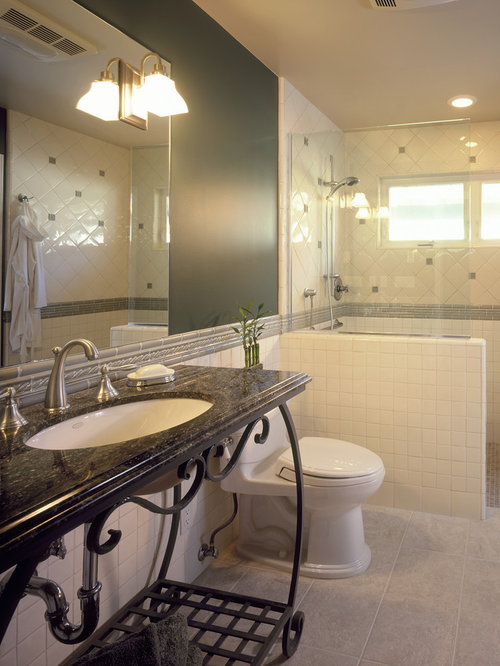 Half Wall Shower Houzz