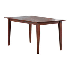 Coaster Fine Furniture   Hyde Dining Table, Warm Medium Walnut   Dining  Tables