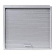 Roller Shutter Kitchen Cabinet, Grey
