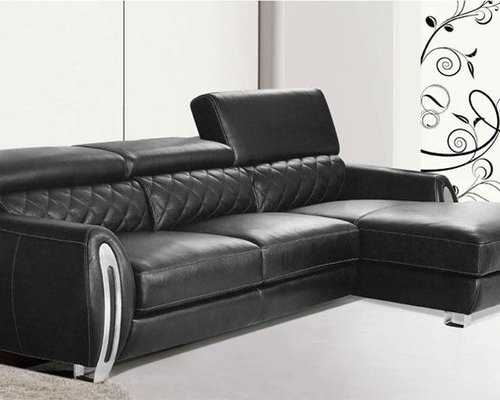 Corner sectional sofas genuine italian quality leather l for Genuine italian leather sectional sofa