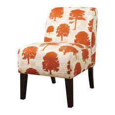 Acme Ollano Accent Chair, Tree Fabric