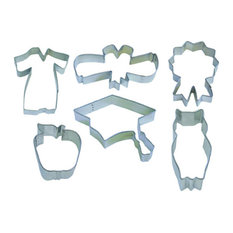 6-Piece Graduation Cookie Cutter Set