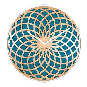 Nextime Large Sun Clock, Turquoise