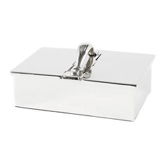 "Storage Box, Eichholtz Russo, Black, 10""x5""x7"""
