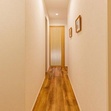 和室に続く廊下