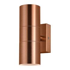 Kenn Up & Down Light Outdoor Wall Light, Copper