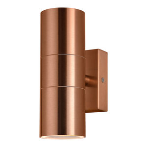 Kenn Up & Down Light Outdoor Wall Light, Copper