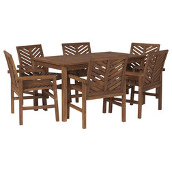 Transitional Outdoor Dining Sets by Walker Edison