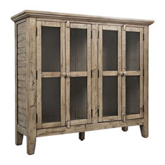 Rustic Shores Watch Hill Weathered Grey 48-inch Accent Cabinet