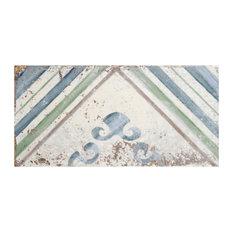 "5.88""x11.88"" Gala Ceramic Wall Tile, Apollini, Set of 22"