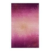 Safavieh Soho Wool Viscose SOH712N 2'x3' Pink Rug