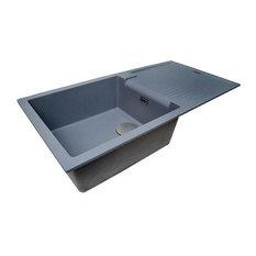 Sharduno Sink 100i, Purquartz, Metalic Grey