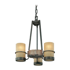 Bamboo chandeliers houzz troy lighting bamboo 3 light chandeliers bamboo bronze chandeliers aloadofball Images