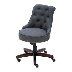 MFO Bomber Jacket Brown Luxurious Conference Chair with Casters