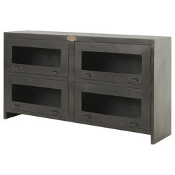 Industrial Entertainment Centers And Tv Stands by The Khazana Home Austin Furniture Store