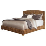 Coaster - Coaster Laughton King Banana Leaf Bed, Natural - Features: