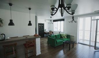 Студия - 50 кв.м - Гостиная-кухня